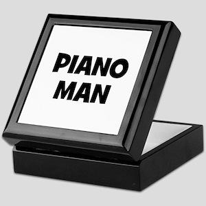 Piano man Keepsake Box