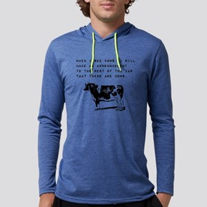 Cow Sighting Long Sleeve T-Shirt