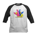 NOW WHAT'S OUR MEMORY VERSE? Kids Baseball Jersey