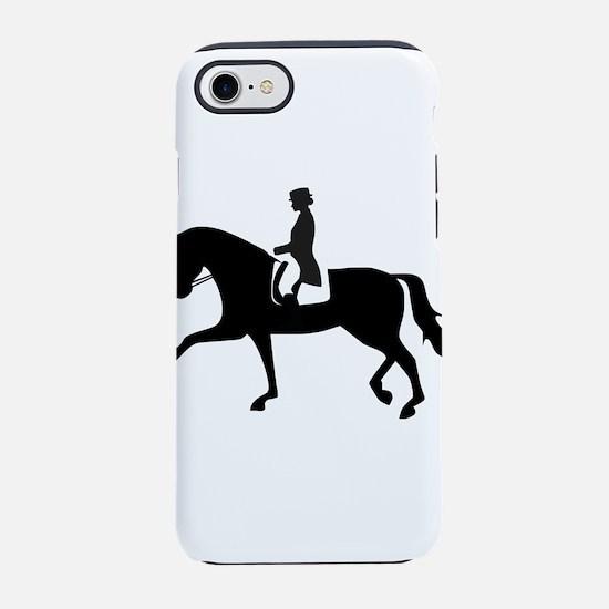 Dressage Horse iPhone 8/7 Tough Case