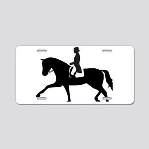 Dressage Horse Aluminum License Plate
