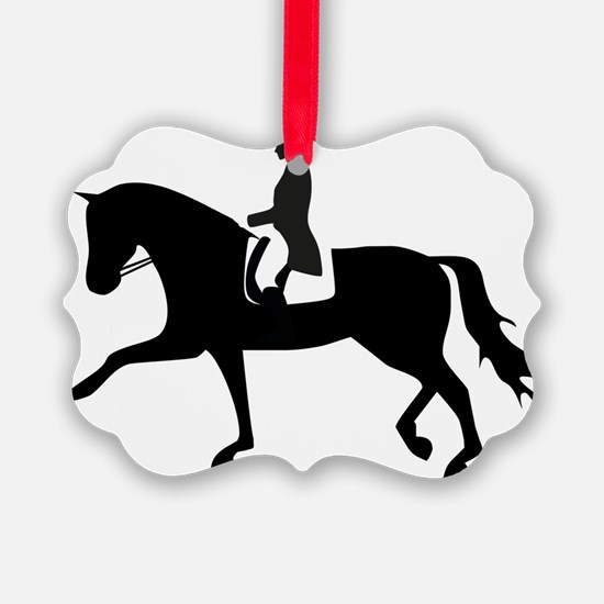Dressage Horse Ornament