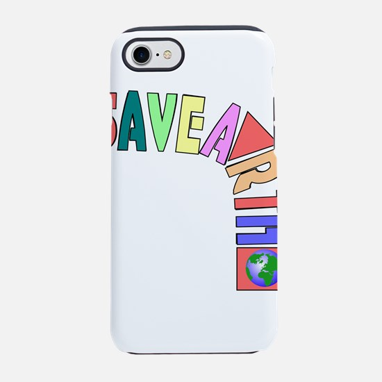 Save earth iPhone 8/7 Tough Case