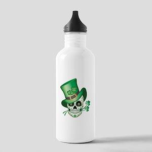 Irish Sugar Skull Water Bottle