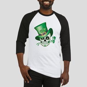 Irish Sugar Skull Baseball Jersey