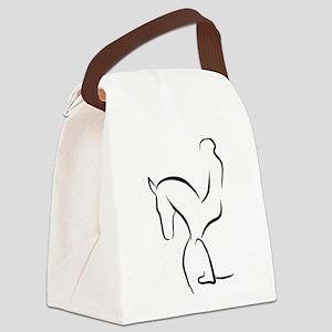 Dressurpferd Canvas Lunch Bag