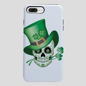 Irish Sugar Skull iPhone 8/7 Plus Tough Case