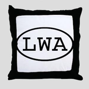 LWA Oval Throw Pillow