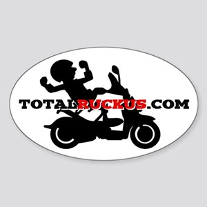 TotalRuckus.com Oval Decal