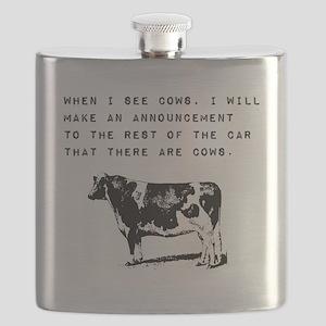 Cow Sighting Flask
