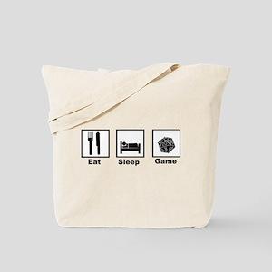Eat, Sleep, Game Role Playing Tote Bag