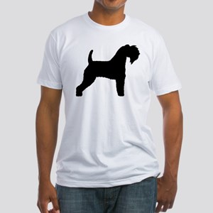 Kerry Blue Terrier Fitted T-Shirt