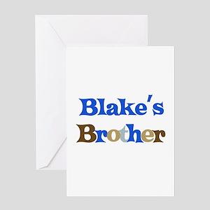 Blake's Brother Greeting Card