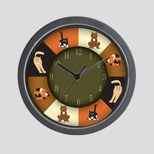 CAT LOVERS! Wall Clock