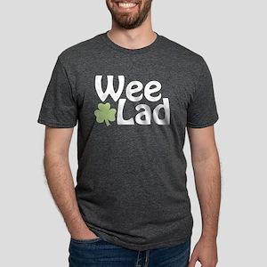 Wee Lad Shamrock Women's Dark T-Shirt