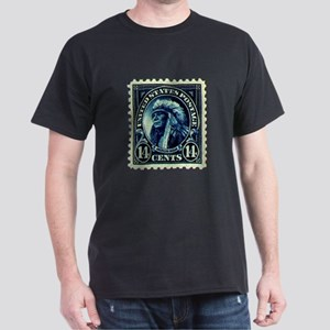Native American Stamp Dark T-Shirt