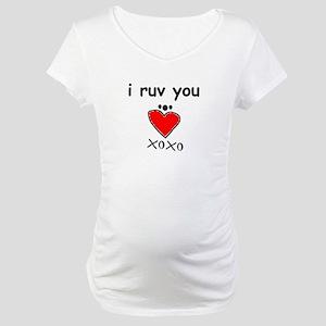 i love you Maternity T-Shirt