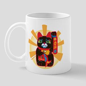 LUCKY BLACK CAT Mug