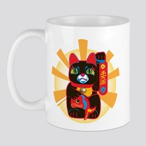 LUCKY BLACK CAT Mug