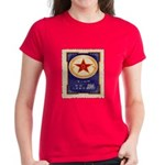 Chinese Stamp Women's Dark T-Shirt