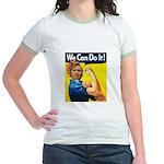 Hillary Can Do it! Jr. Ringer T-Shirt