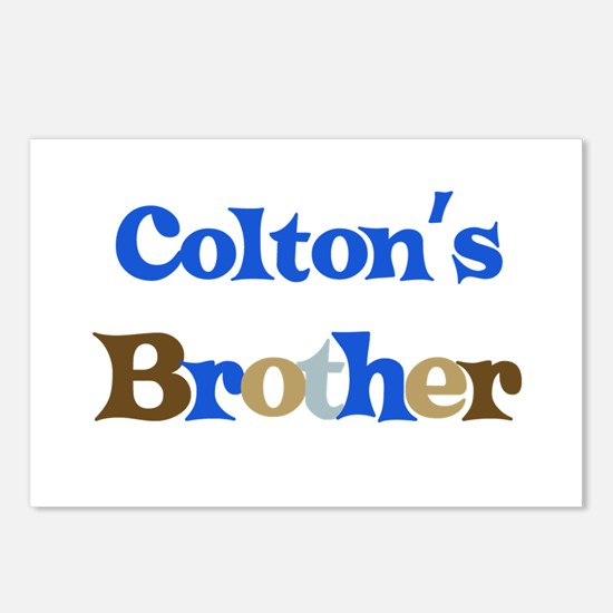 Colton's Brother  Postcards (Package of 8)