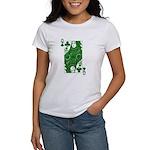 Irish Queen of Clubs Women's T-Shirt