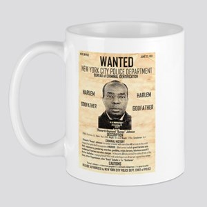 Wanted Bumpy Johnson Mug