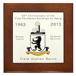 Field Station Berlin Framed Tile