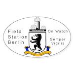 Field Station Berlin Oval Sticker