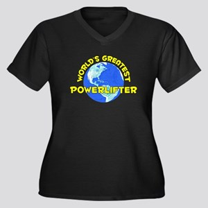 World's Greatest Power.. (D) Women's Plus Size V-N