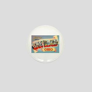 Cleveland Ohio Greetings Mini Button