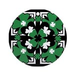 SHAMROCK DESIGN 2 Ornament (Round)