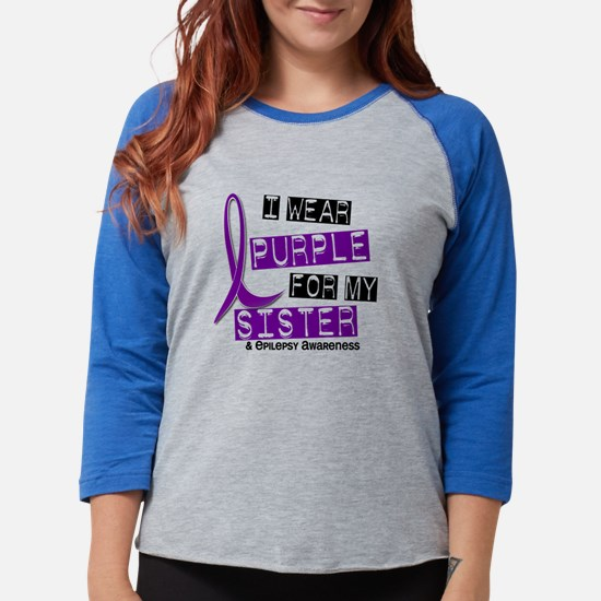 I Wear Purple 37 Epilepsy Long Sleeve T-Shirt