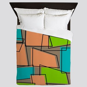 Atomic rug 2 Queen Duvet
