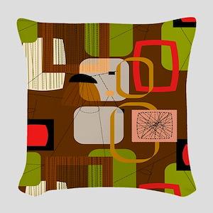 Rug 4 Woven Throw Pillow