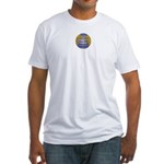 The Earth Belongs too... Fitted T-Shirt