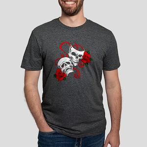 Drama Skulls V-Neck T-Shirt