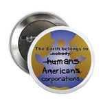 The Earth Belongs too... Button