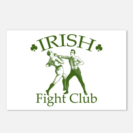 Irish Fight Club GR Postcards (Package of 8)