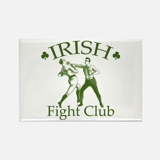 Irish Fight Club GR Rectangle Magnet