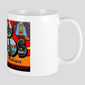 Grand Rapids Michigan Greetings Mug