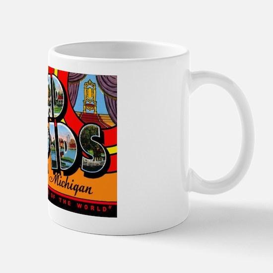 Grand Rapids Michigan Greetings Mug