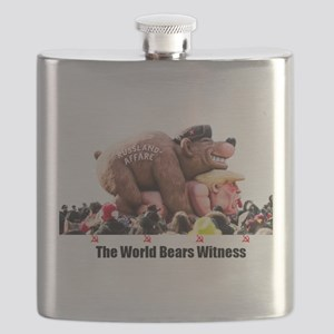 Bear Witness Flask