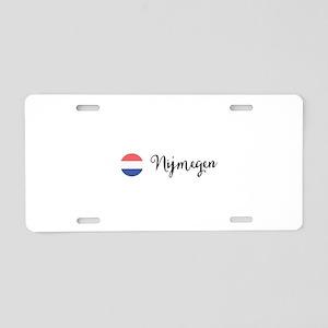 Nijmegen Aluminum License Plate
