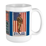 Be a U.S. Marine! Large Mug