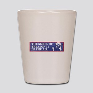 The Smell Of Treason Is In The Air Shot Glass