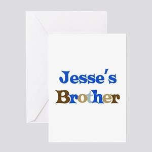 Jesse's Brother Greeting Card