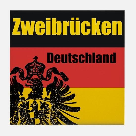 Zweibrücken Deutschland  Tile Coaster