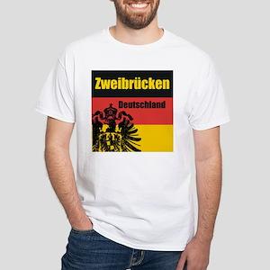 Zweibrücken Deutschland White T-Shirt